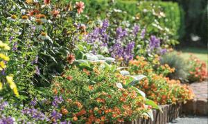 french garden house - troy rhone landscape