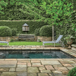 pool deck design - patio design by Troy Rhone Gardens